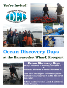 Maine Clammers Association hosts Ocean Discovery Days In Freeport with DEI
